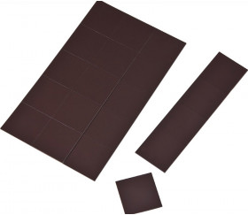60 magnets 2 x 2 cm mini aimants adhésifs