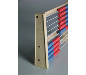 Boulier en bois 10 rangées 25 x 17 x 4.5 cm
