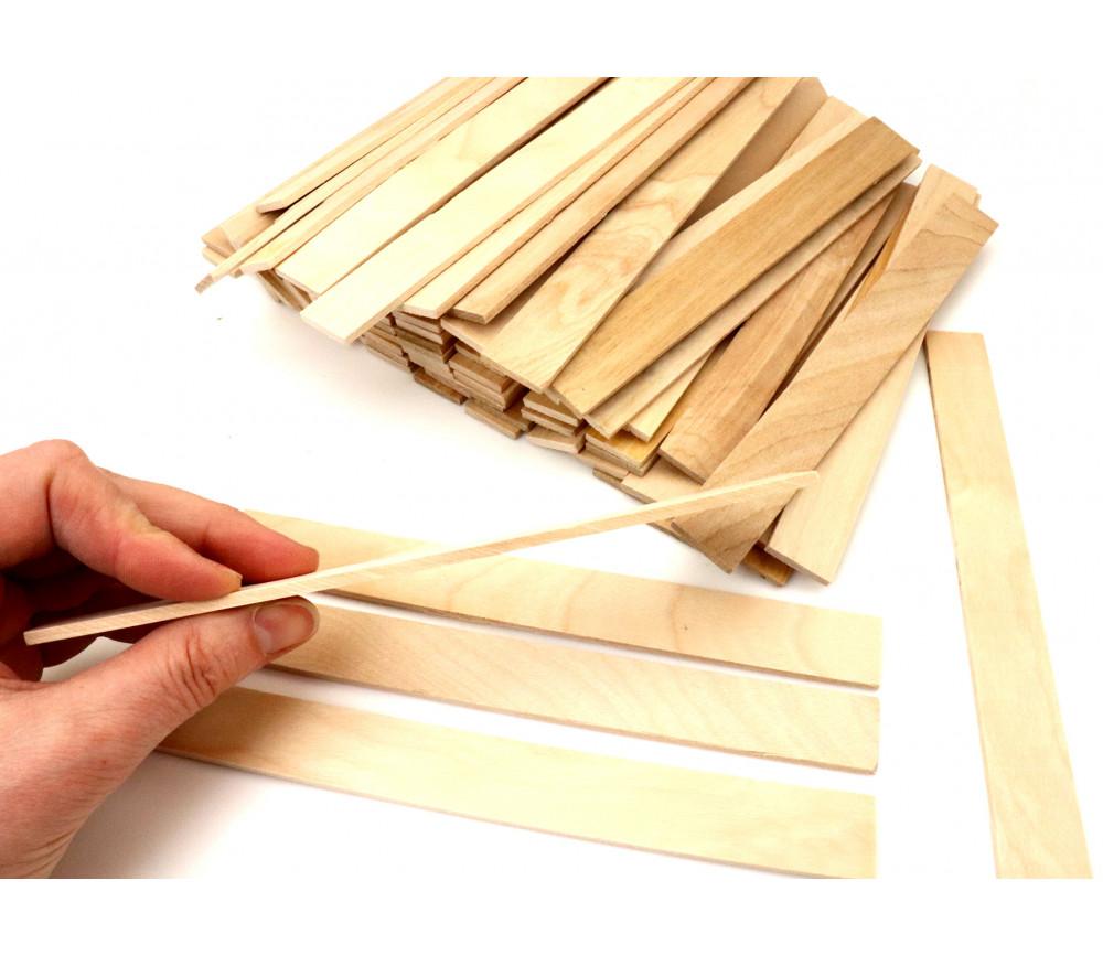 45 grandes plaquettes en bois naturel 36 cm construction jeux