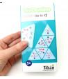 Tri-dominos de 1 à 12 - chiffres, points et objets