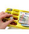 Valisette avec 290 pièces et billets euros factices de jeux