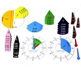 Horloge fractionnée magnétique