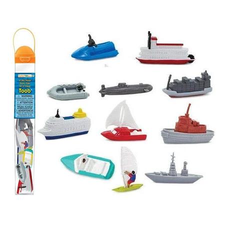 """9 véhicules bateaux figurines de jeux """"sur l'eau"""""""