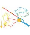 Jeu de pêche à la ligne grandes dimensions animations