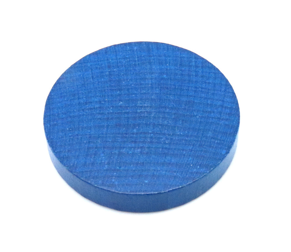 Palet géant bleu de 10 cm en bois 97 x 15 mm