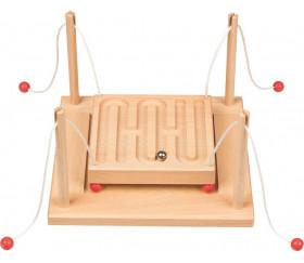 Labyrinthe coopératif en bois 2 à 4 joueurs