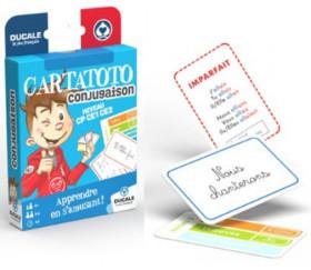 Cartatoto Conjugaison apprendre en s'amusant 110 cartes
