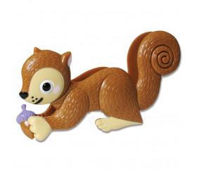 Jeu éducatif écureuil gourmand et rusé
