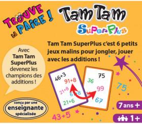 Tamtam Superplus : addition a + b dizaines et unités