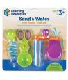 4 Outils motricité fine eau et sable