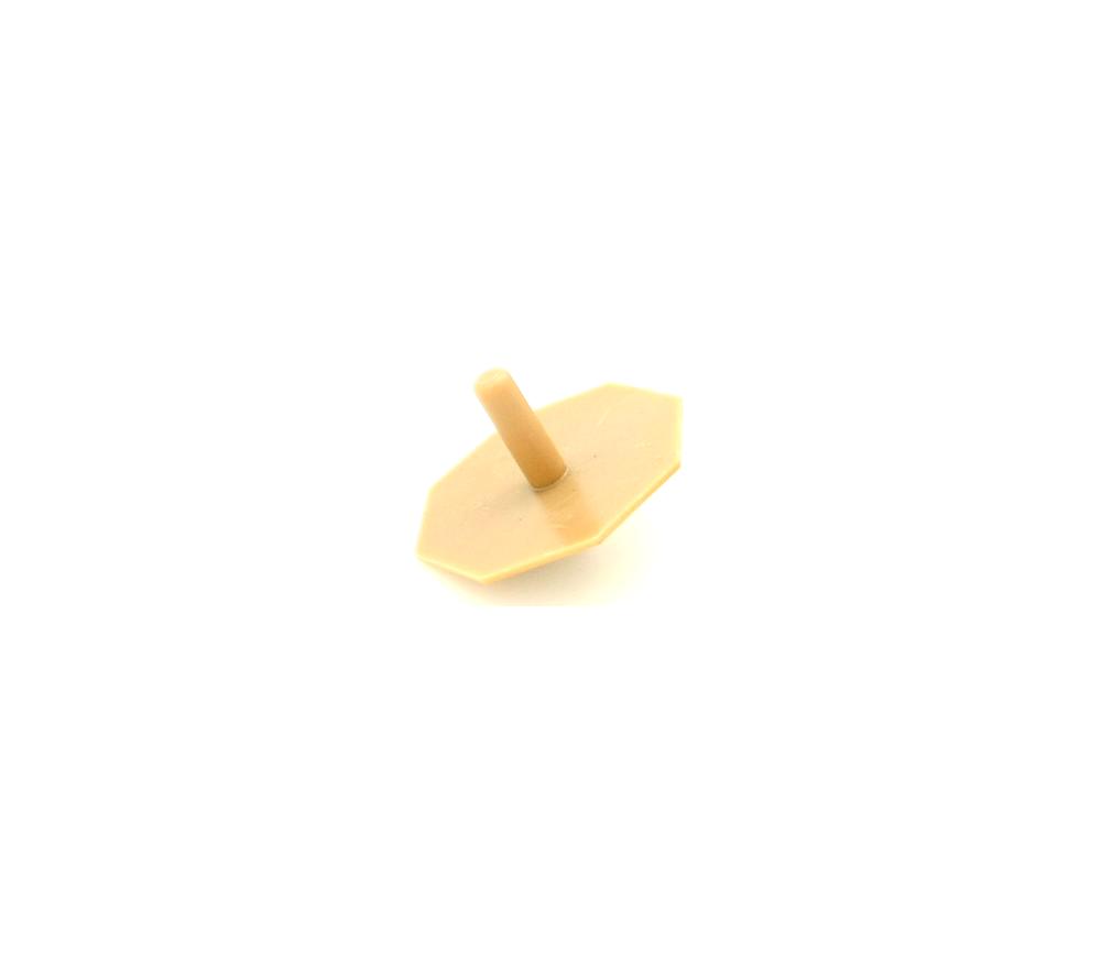 Toupie octogonale personnalisable 4.7 x 4 cm pour création de jeu