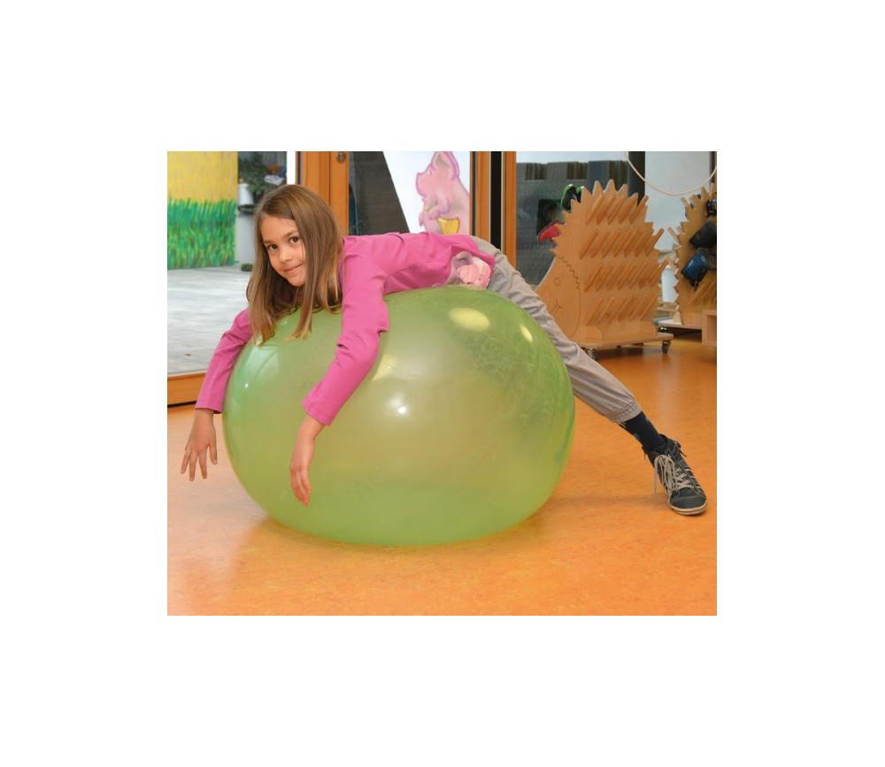 Ballon géant 90 cm translucide et flexible