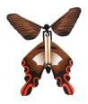 4 papillons volants