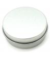 Boîte ronde métal Ø 4.3 cm avec couvercle