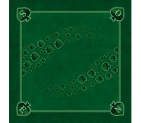 Tapis jeu 60 x 60 cm Tarot vert Pique Forest