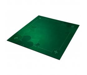 Tapis jeu 60 x 60 cm Tarot vert Nord-Sud