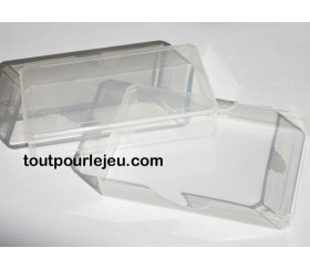 Boite plastique pour 32 cartes à jouer transparentes