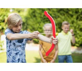 Jeu de tir à l'arc avec 3 flèches et 3 cibles pommes en bois