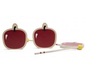 Guillaume Tell : Tir à l'arc bois sécurité et pommes en bois
