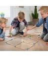 Défis logiques : jeu des grandes baguettes en bois