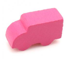 Pion camion rose pour jeu 21 x 12 x 8 mm à l'unité