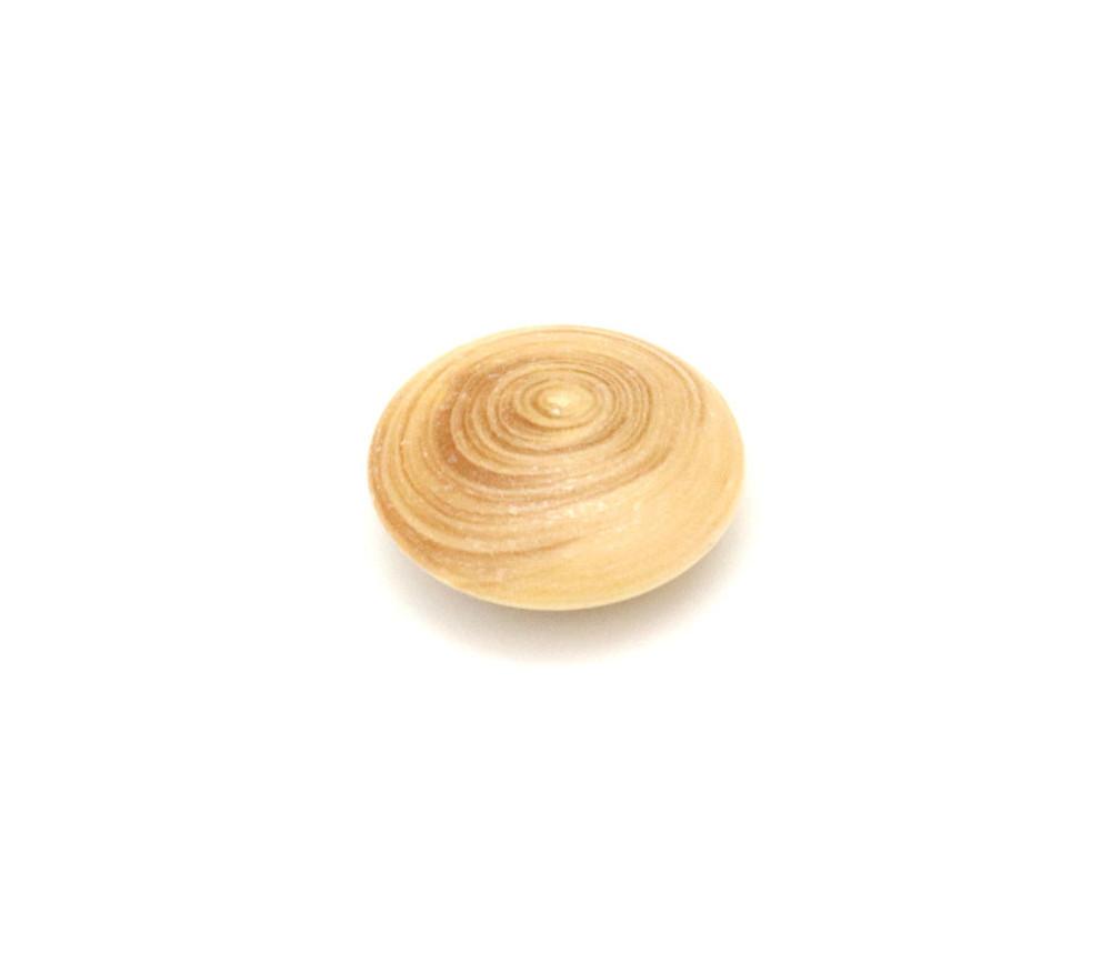 Palet galet 2.3 cm buis naturel pour jeu de go
