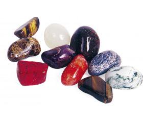 10 grosses pierres précieuses 2 à 3 cm imitation