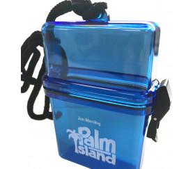 Boite cartes à jouer étanche pour la plage Plam Island
