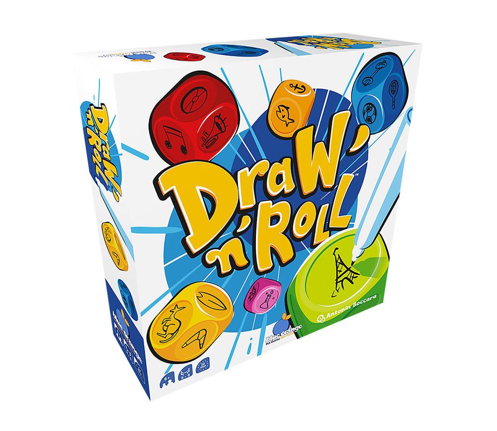 Draw'N'Roll - Jeu dés dessin détective