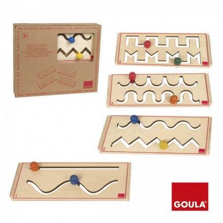Jeu en bois Apprendre l'écriture - GOULA