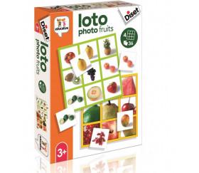 Jeu Loto photos fruits