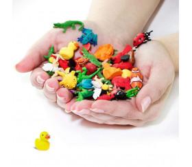 Figurine mini mini canard jaune 16 x 15 x 20 mm