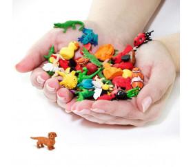 Figurine mini mini chien teckel 25 x 16 x 7 mm