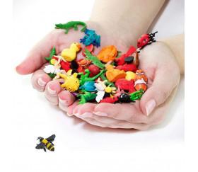 Figurine mini mini bourdon jaune et noir 8 x 35 x 30 mm