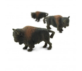 Figurine mini mini bison 28 x 18 x 9