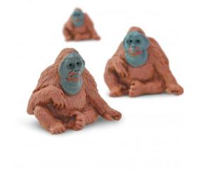 Figurine mini mini orang outan singe 25 x 16 x 28 mm