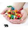 Figurine mini mini ours noir 30 x 15 x 10mm
