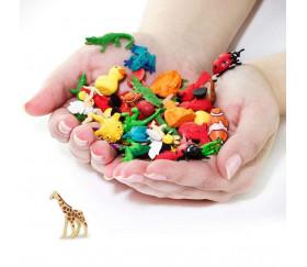 Figurine mini mini girafe safari 33 x 8 x 20 mm
