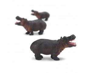 Figurine mini mini hippopotame 30 x 8 x 15