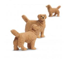 Figurine mini mini chien golden retriever 25 x 9 x 20 mm