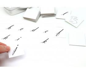 48 Carrés autocollants blancs 35 mm étiquettes