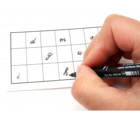 Carton grille à personnaliser 16.5 x 8.5 cm
