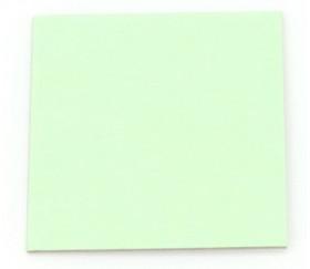 24 carrés 4 x 4 cm carton rigide vert/blanc vierge tuiles à personnaliser