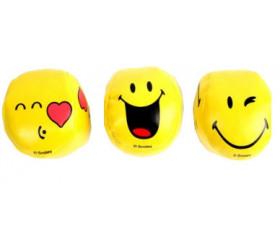 3 Balles de jonglage Smiley 6.3 cm de jeu