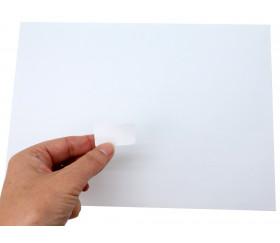 65 autocollants blancs 38.1 x 21.2 mm étiquettes à imprimer