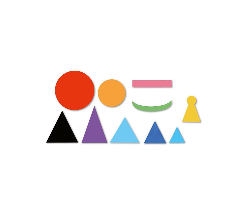 50 symboles de discours magnétiques Montessori