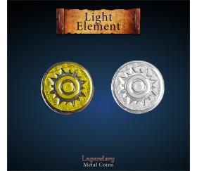 12 pièces métal light element