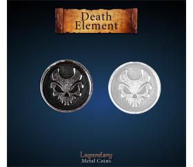 Pièce métal Death element Legendary
