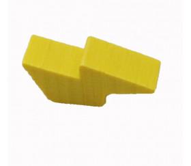 Pion éclair foudre en bois 25 x 10 X 8 mm