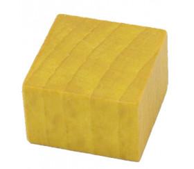 pavé carré jaune